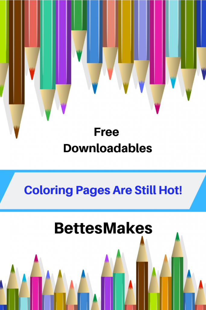 Coloring Pages Are Still Hot