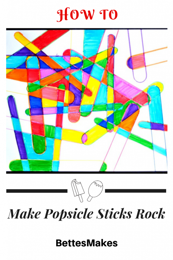 How To Make Popsicle Sticks Rock