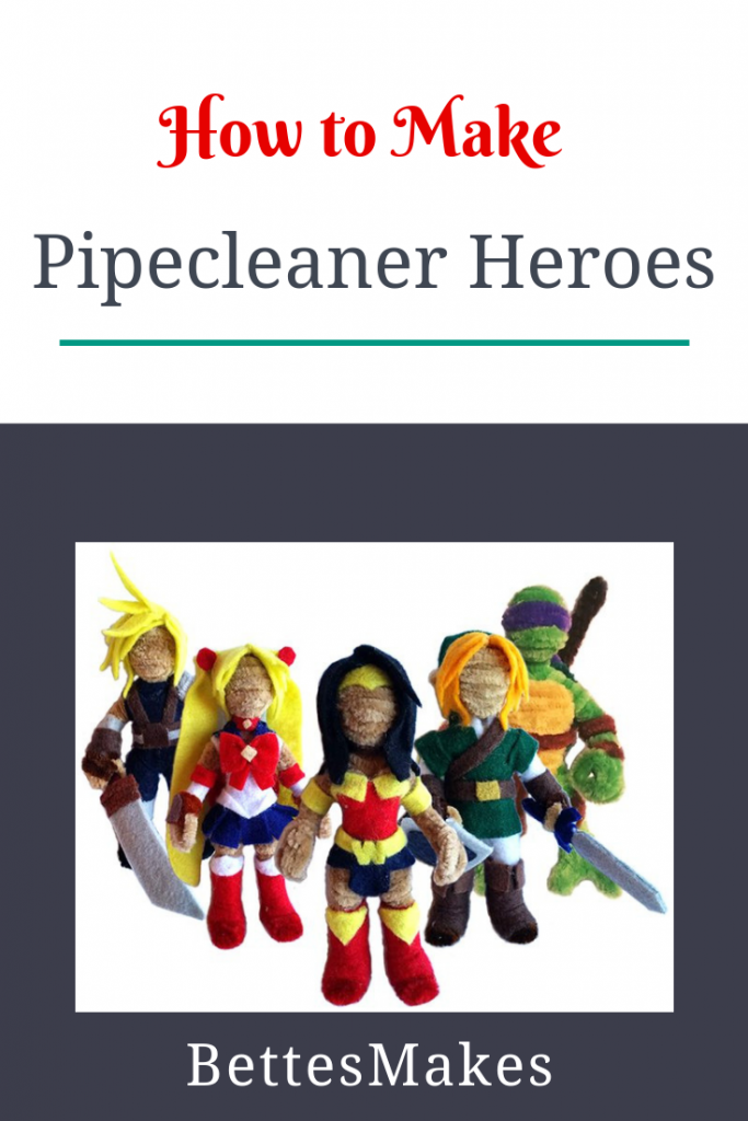 Pipecleaner Heroes