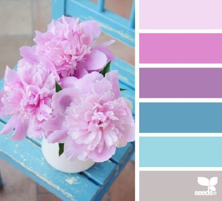 Flower Color Palette posted to BettesMakes