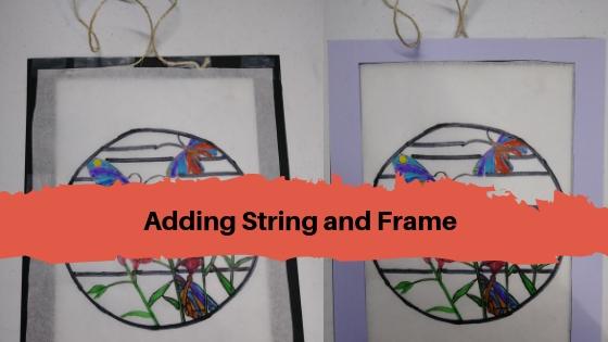 Adding String and Frame