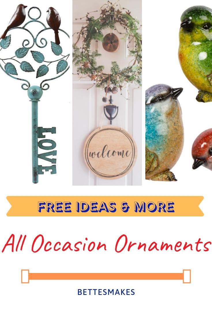 All Occasion Ornaments