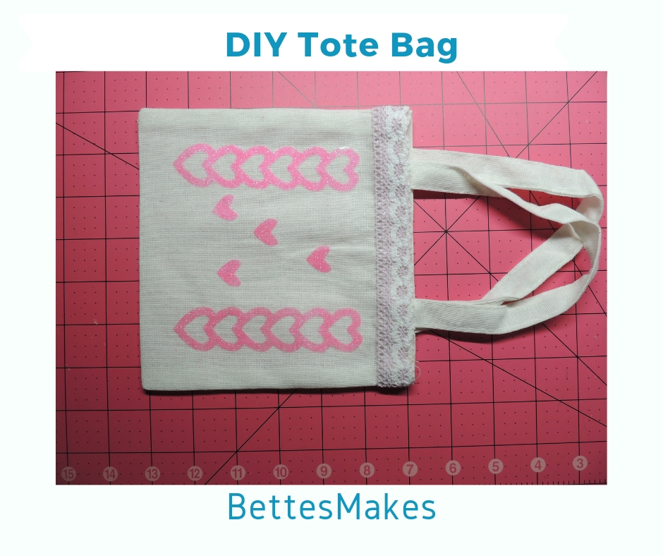 DIY Tote Bag Finished Product