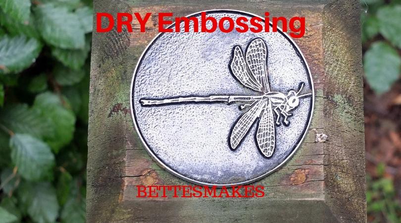Dry Embossing Technique