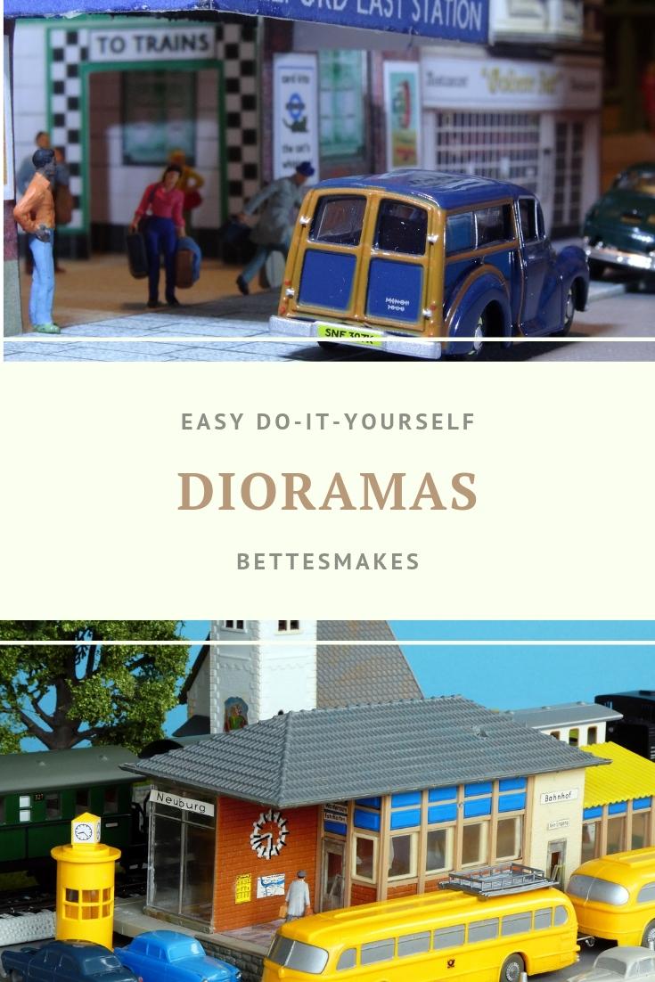 Easy DIY Dioramas