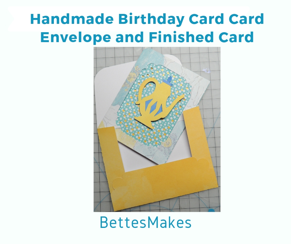 Handmade Card Finished Envelope and Card
