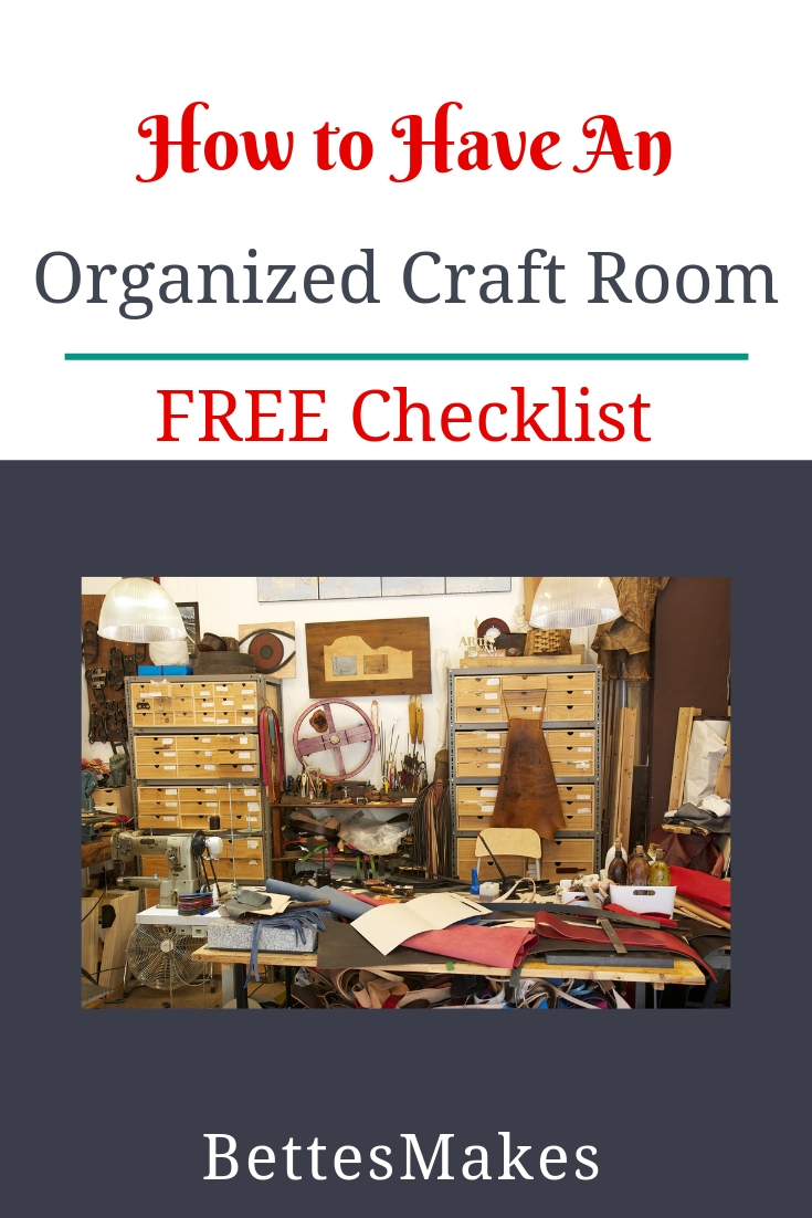 How To Have An Organized Craft Room