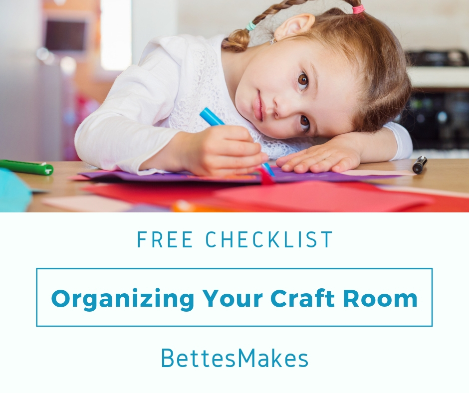 Organizing Your Craft Room