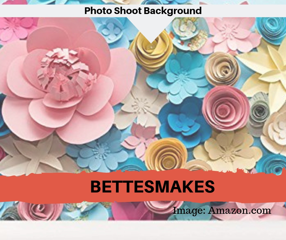 Paper Flower Photo Shoot Background