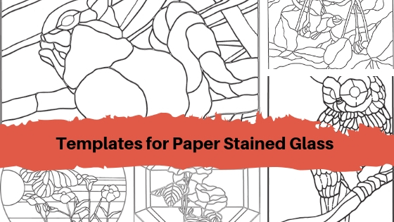 Templates for Paper Stained Glass