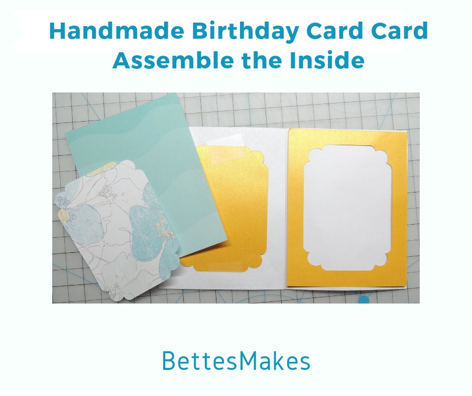 Assemble the Inside of the Card