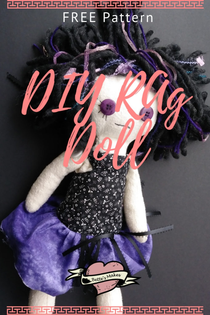 Easy DIY Rag Doll Tutorial