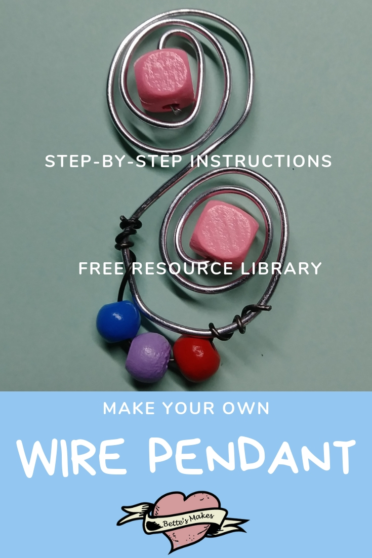 Make Your Own Wire Pendant Necklace