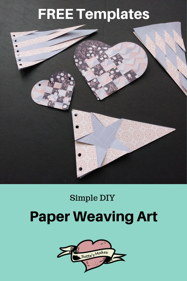 Simple DIY Paper Weaving Projects