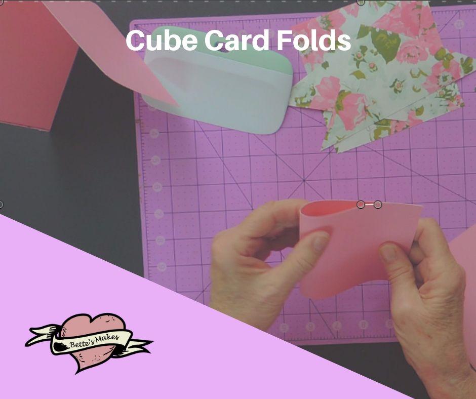 Handmade Card: Cube Card Folds - BettesMakes.com