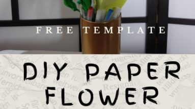 DIY Paper Flower Peony - BettesMakes