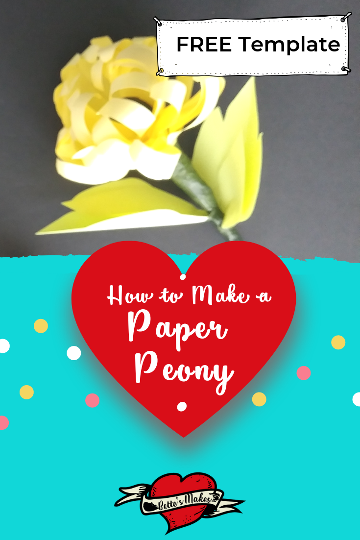 Makinga Paper Peony is a fun project that anyone can do - perfect for the whole family! Just imagine making a bouquet of these amazing paper flowers! Perfet for the table and Diy Home Decor! Get the tutorial at bettesmakes.com