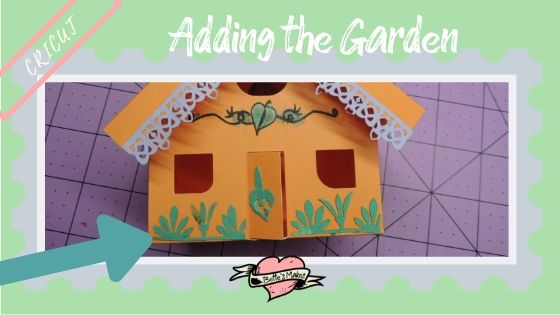 Simple Paper House - Adding the Garden - BettesMakes.com