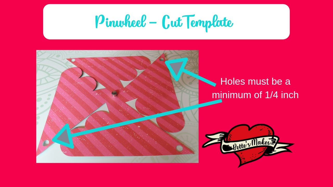 Pinwheels - The Cut Template - BettesMakes.com