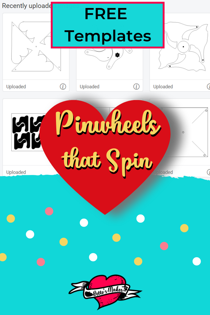 Pinwheels that Spin - BettesMakes.com