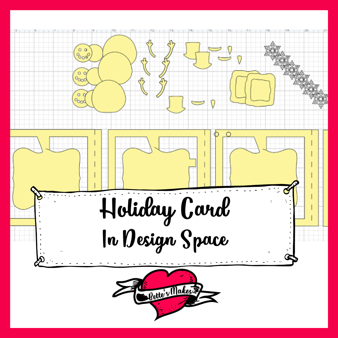 Holiday Card in Design Space