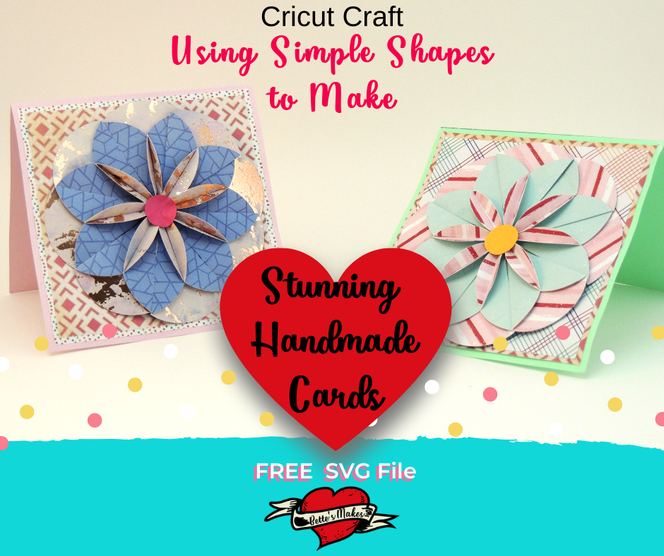 Handmade Card: Using Simple Shapes – Cricut Craft