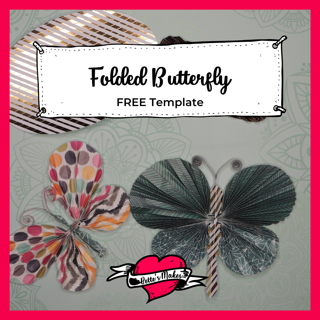 Folded Butterfly: Easy Craft for DIY Home Decor