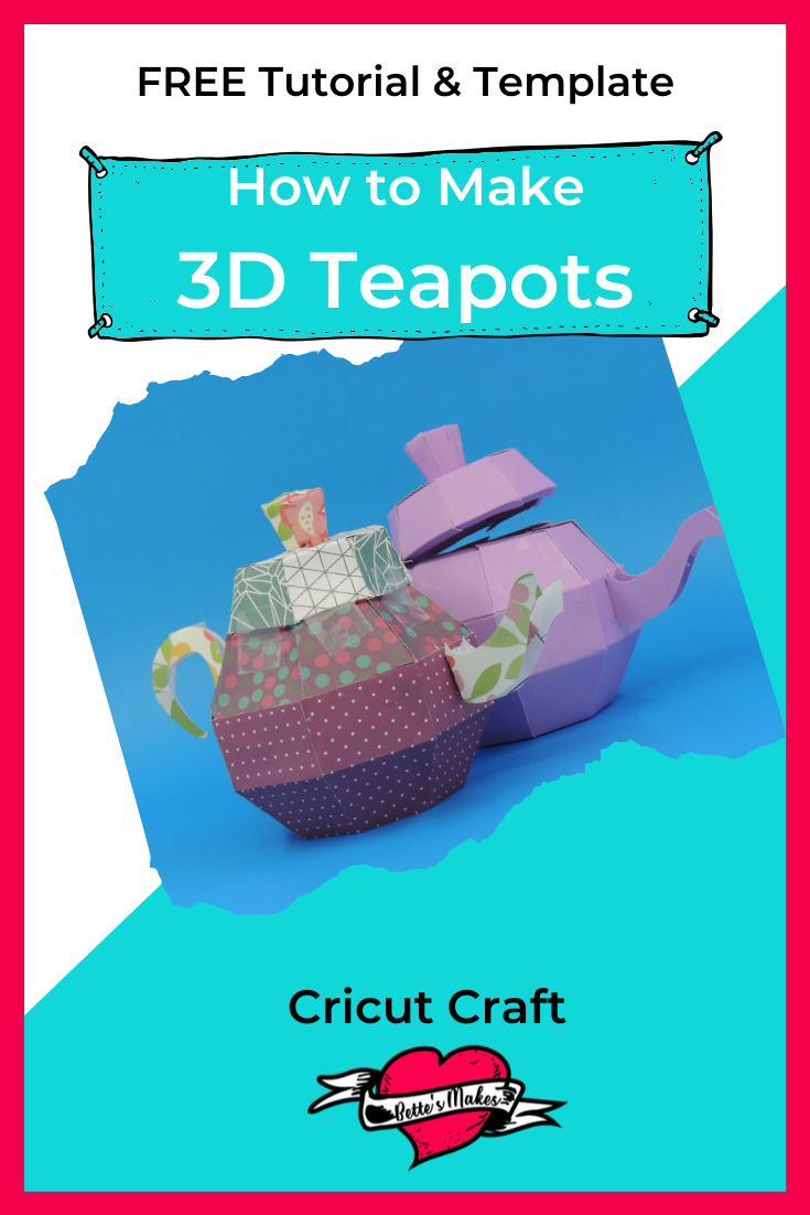 How to Make a Gorgeous 3D Teapot