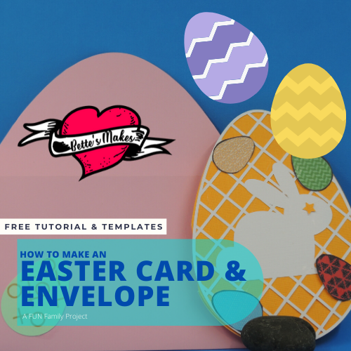 How to Make an Easter Card and Envelope BettesMakes