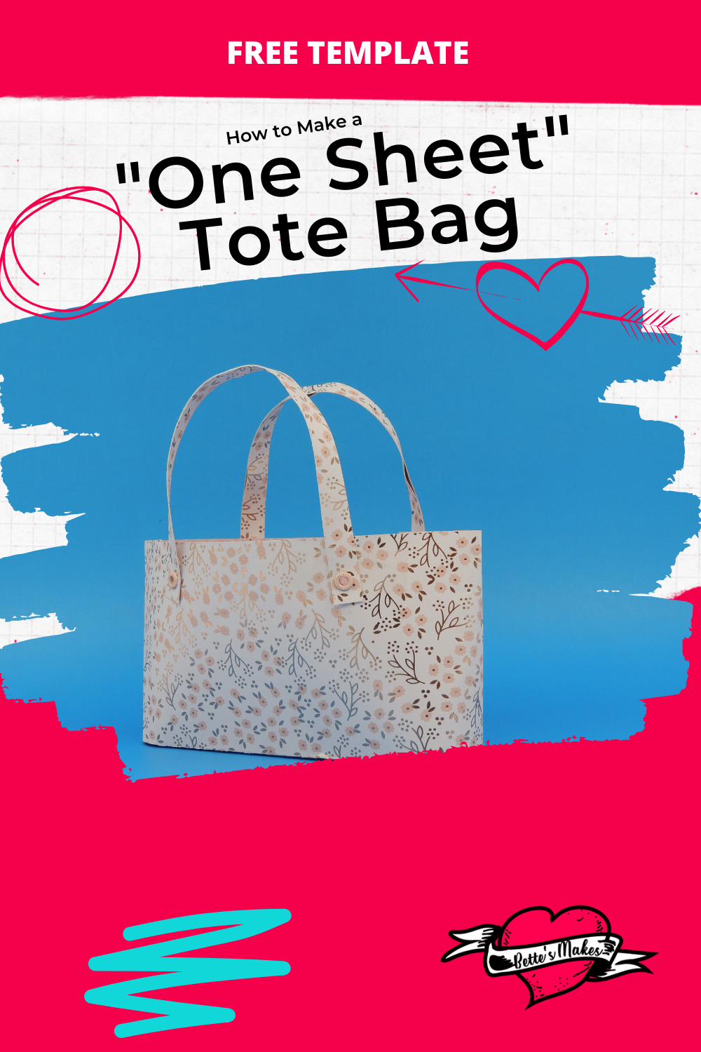 What a great tote bag! So Easy to Make and perfect for DIY Home Decor. You can even use these tote bags as a fashion accessory! #Cricut #papercraft