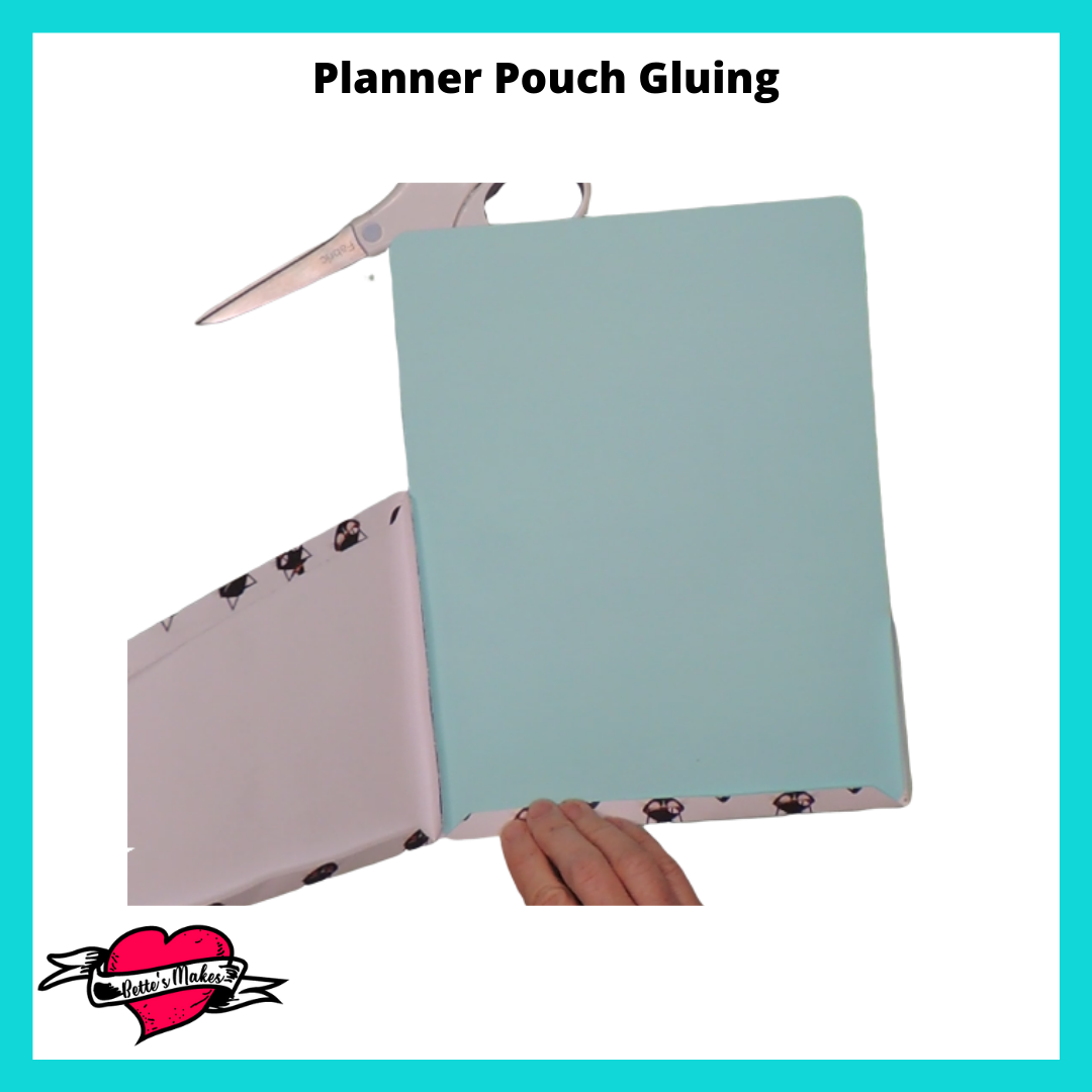 Planner Pouch Gluing