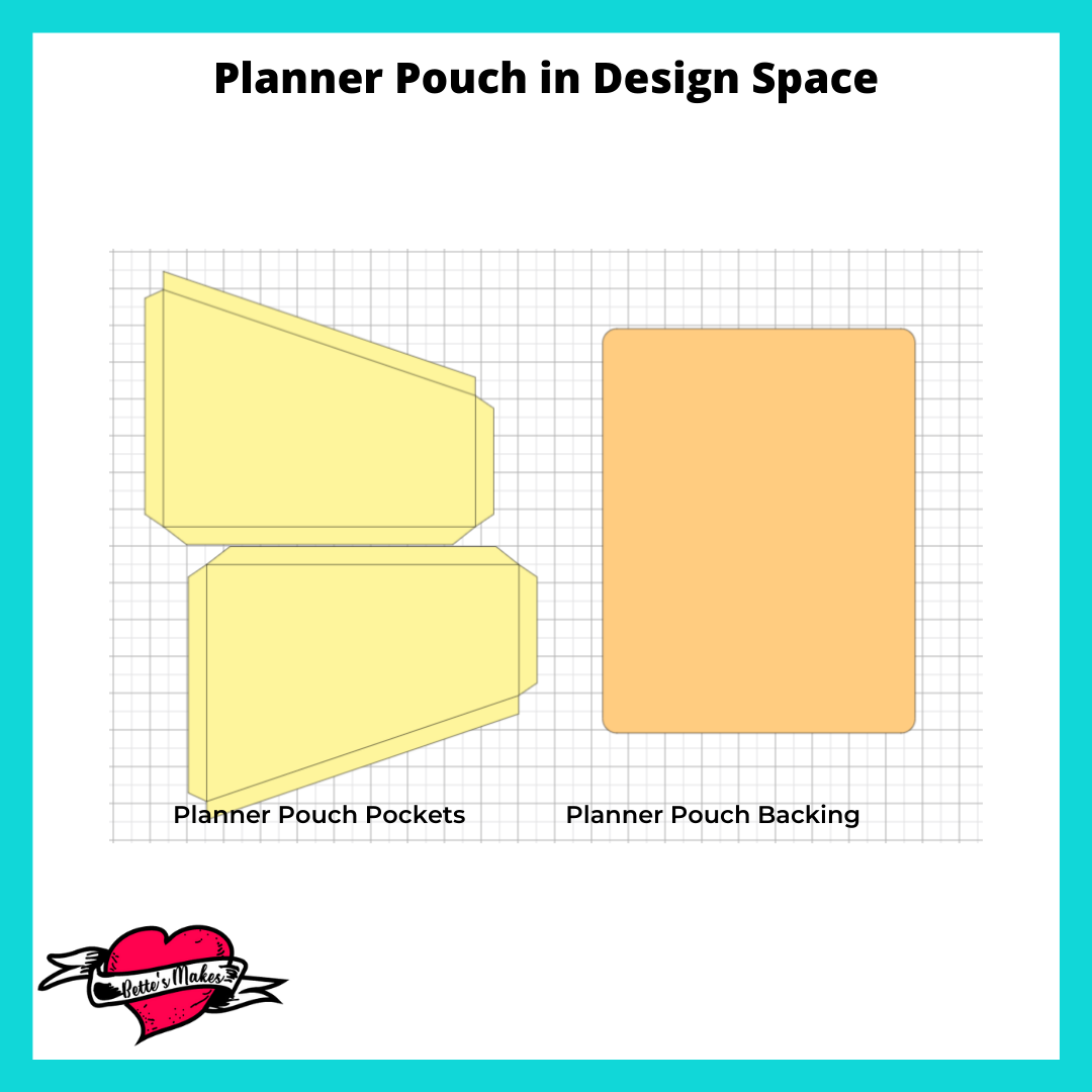 Planner Pouch in Design Space