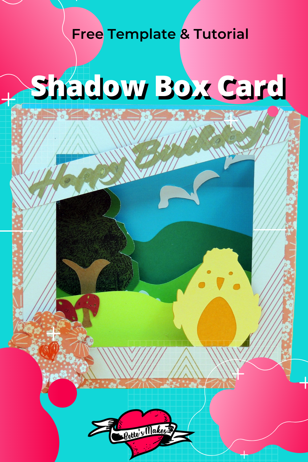 How to Make an Amazing Simple Shadow Box Card