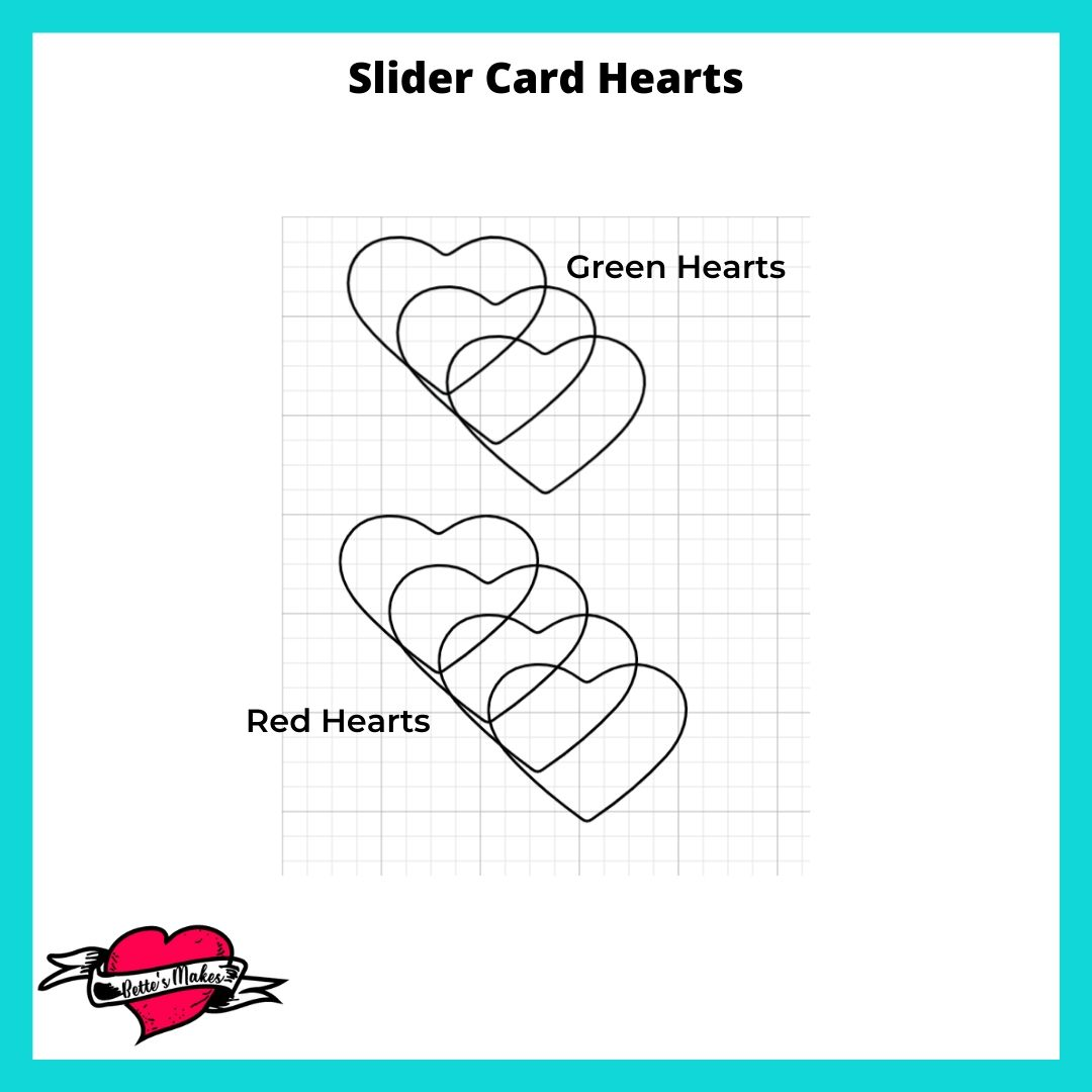Slider Card Hearts