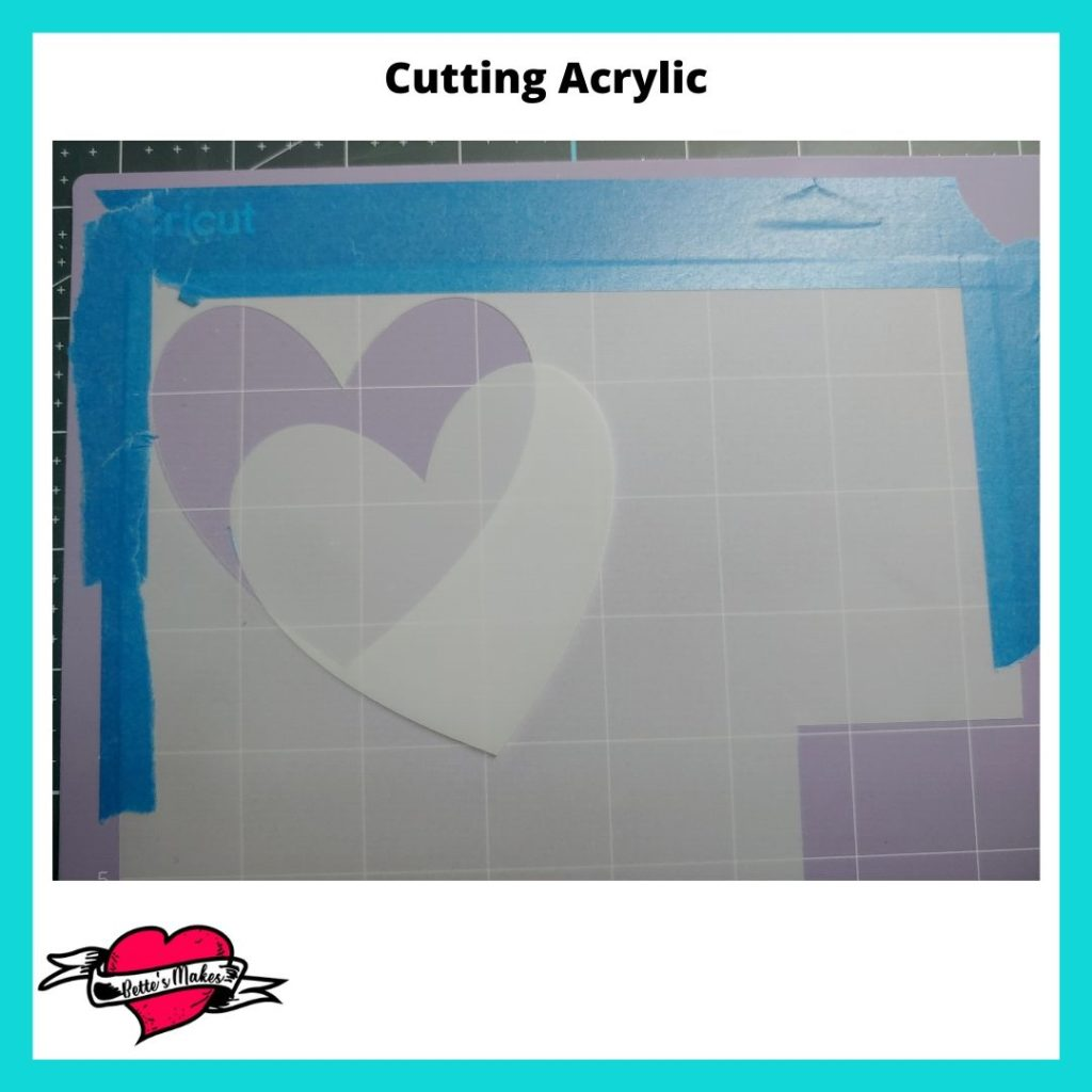 Taping and Cutting Acrylic