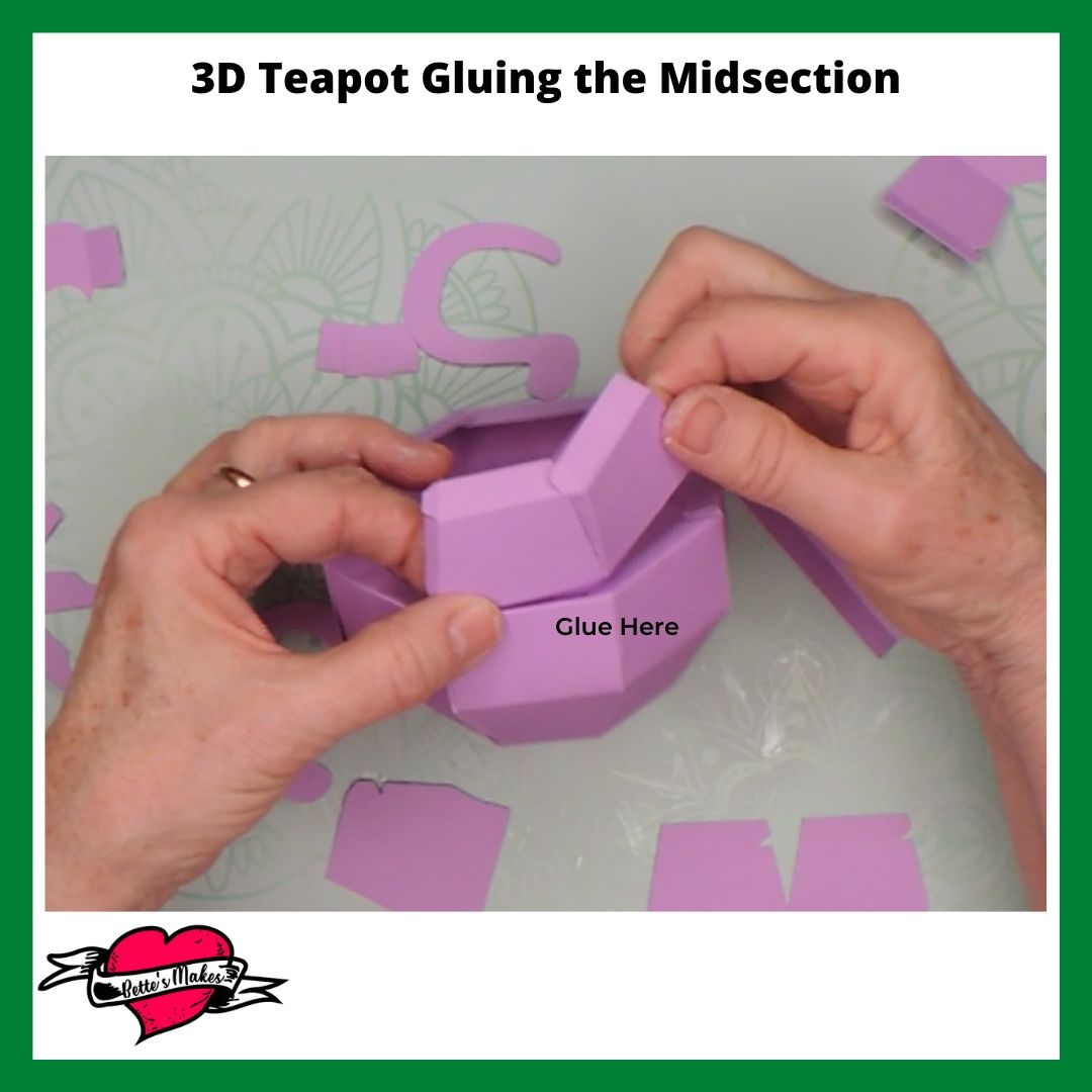 3D Teapot Gluing the Midsection