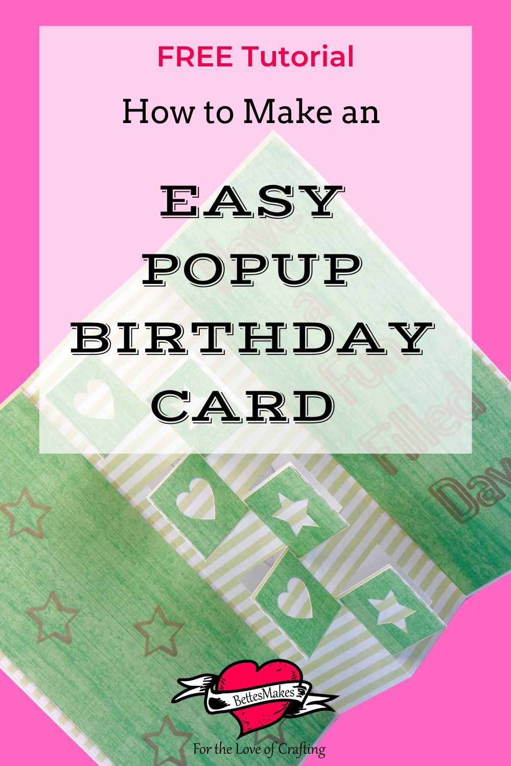 How to Make an Easy Popup Birthday Card