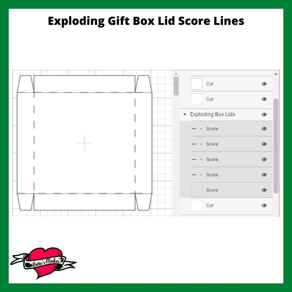 DIY Exploding Gift Box Lids