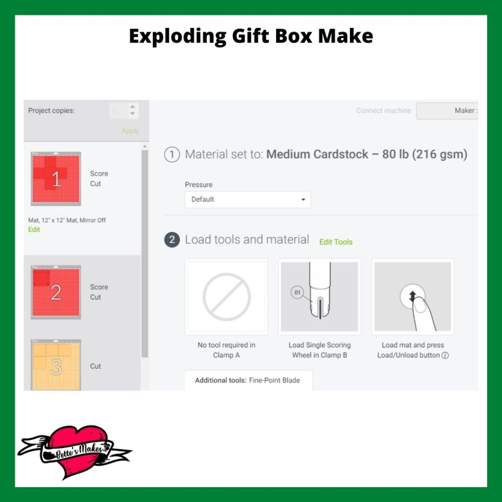 Exploding Gift Box Step-by-Step Make