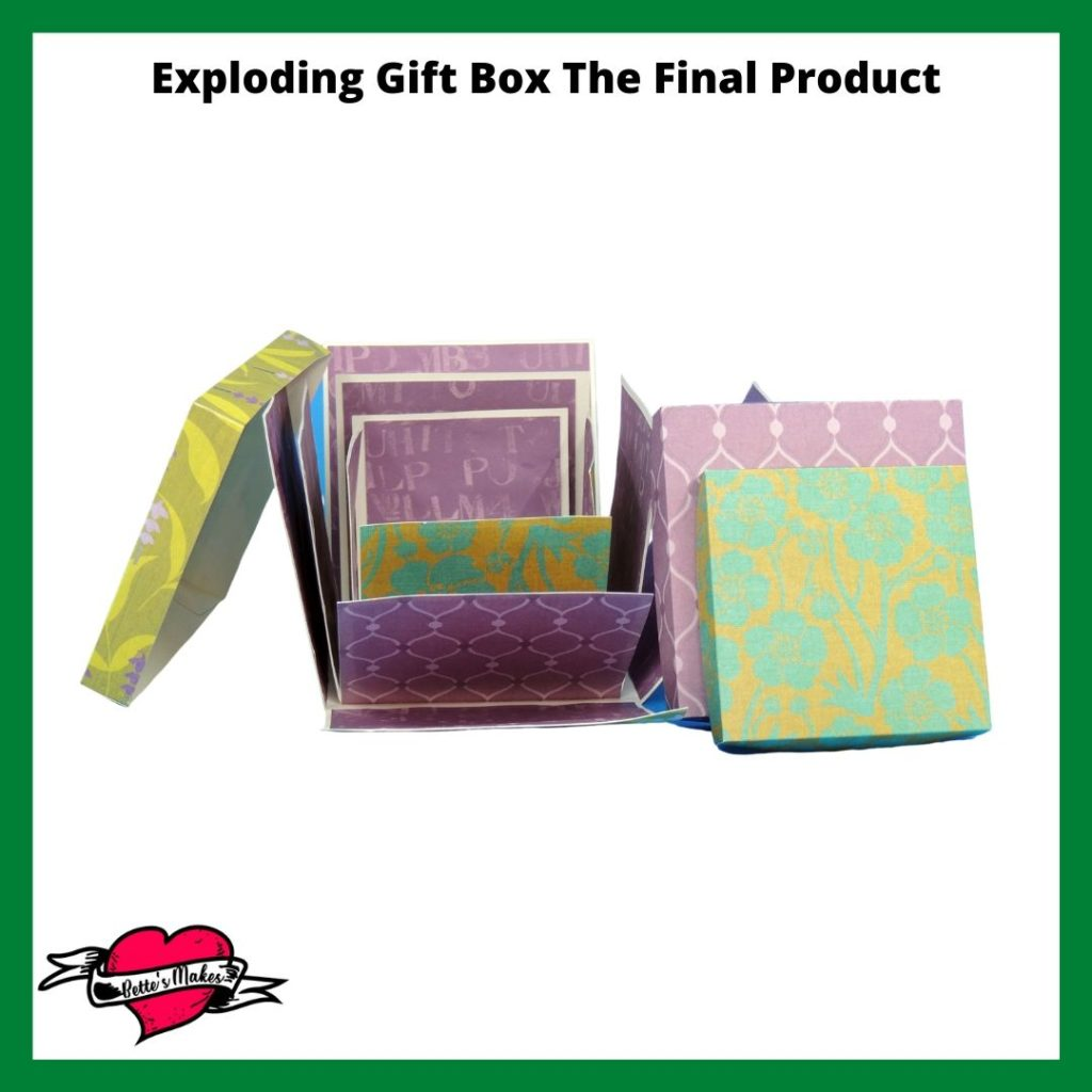 Exploding Gift Box - The Final Product