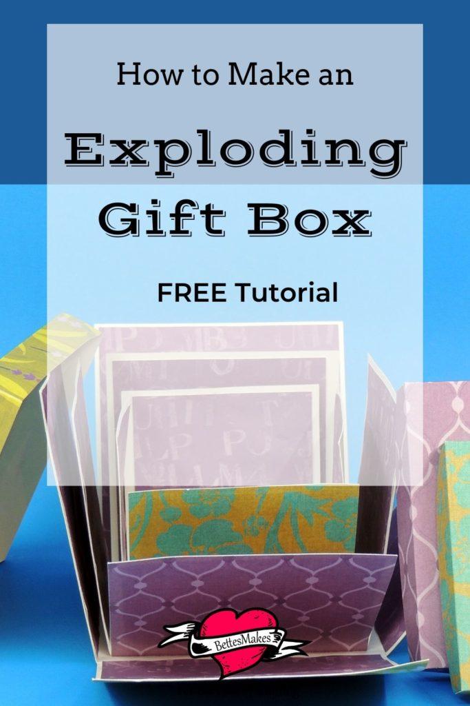 Exploding Gift Box for Beginners