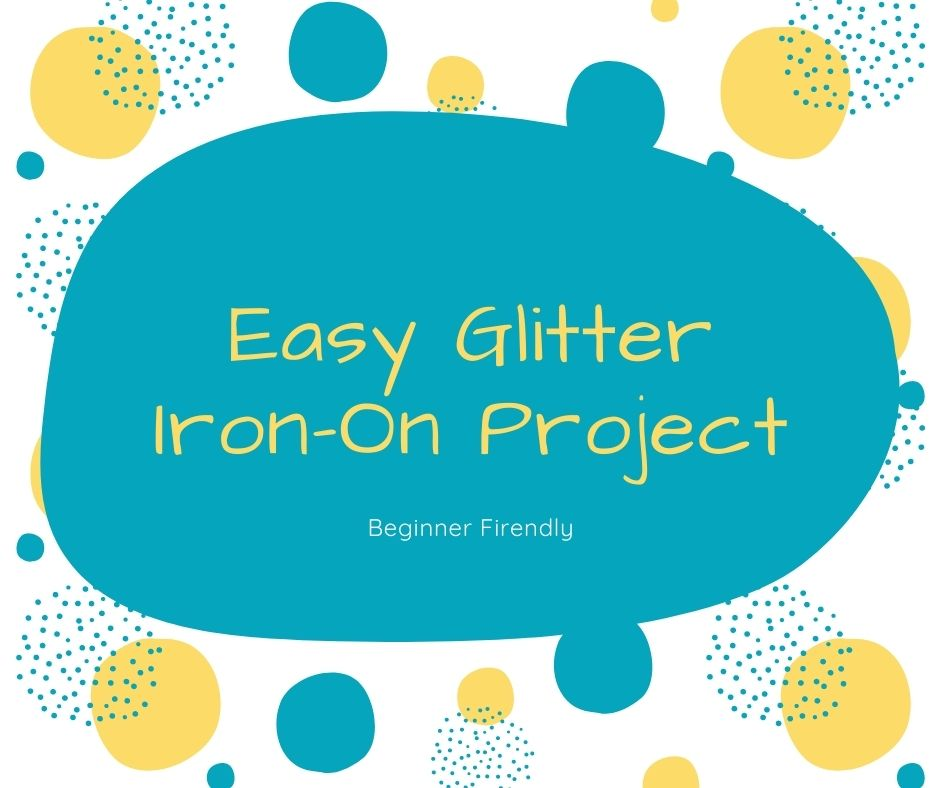 Cricut Craft – Glitter Iron-On T-Shirt