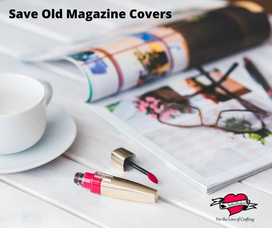 Save Old Magazine Covers