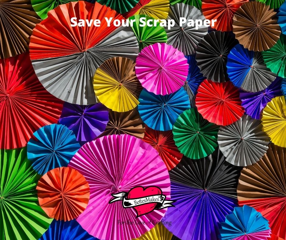 Save Your Scrap Paper