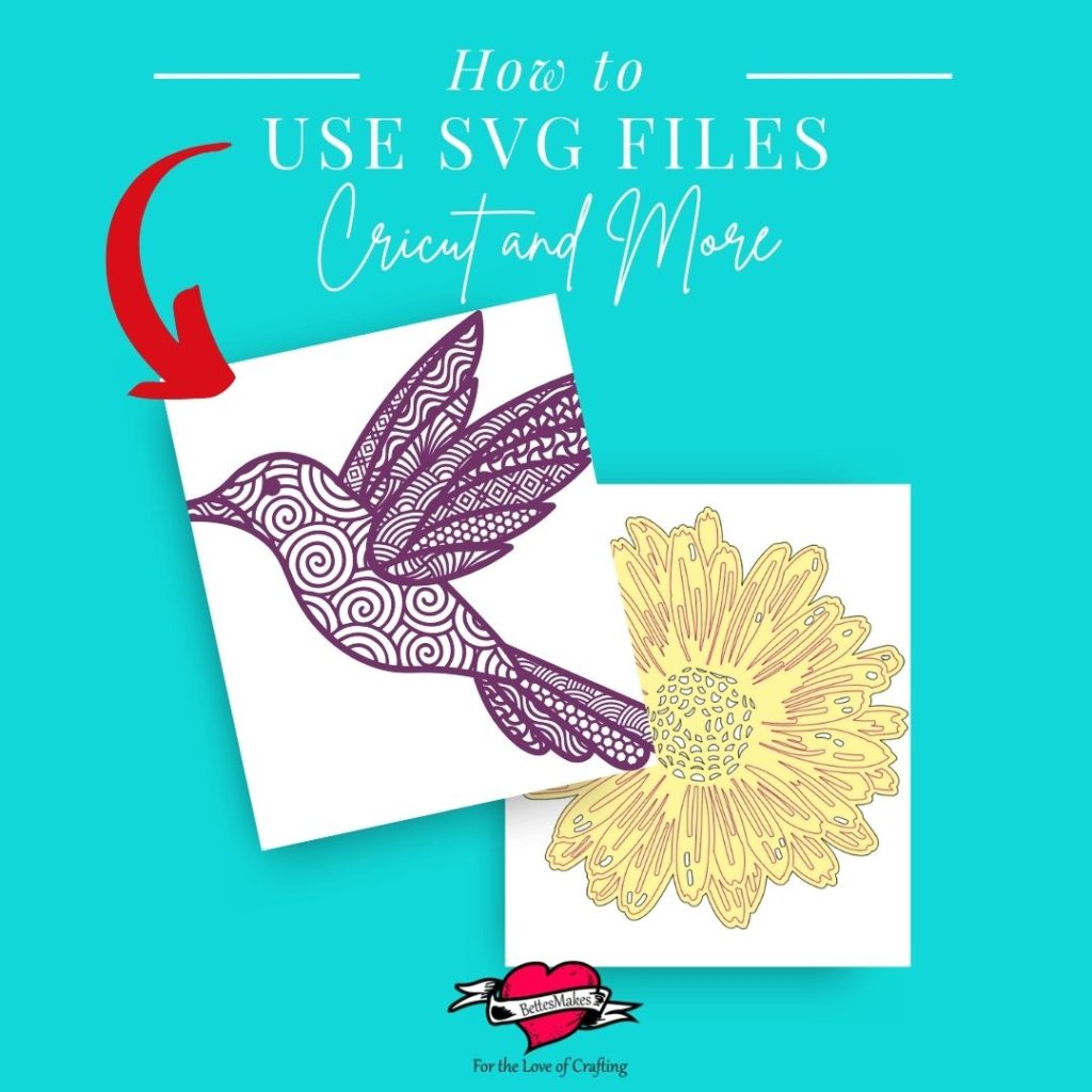 How to use SVG Files for Cricut and more