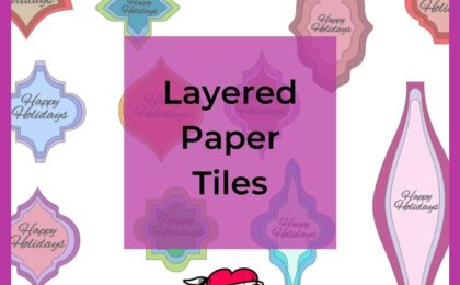 Layered Paper Tiles