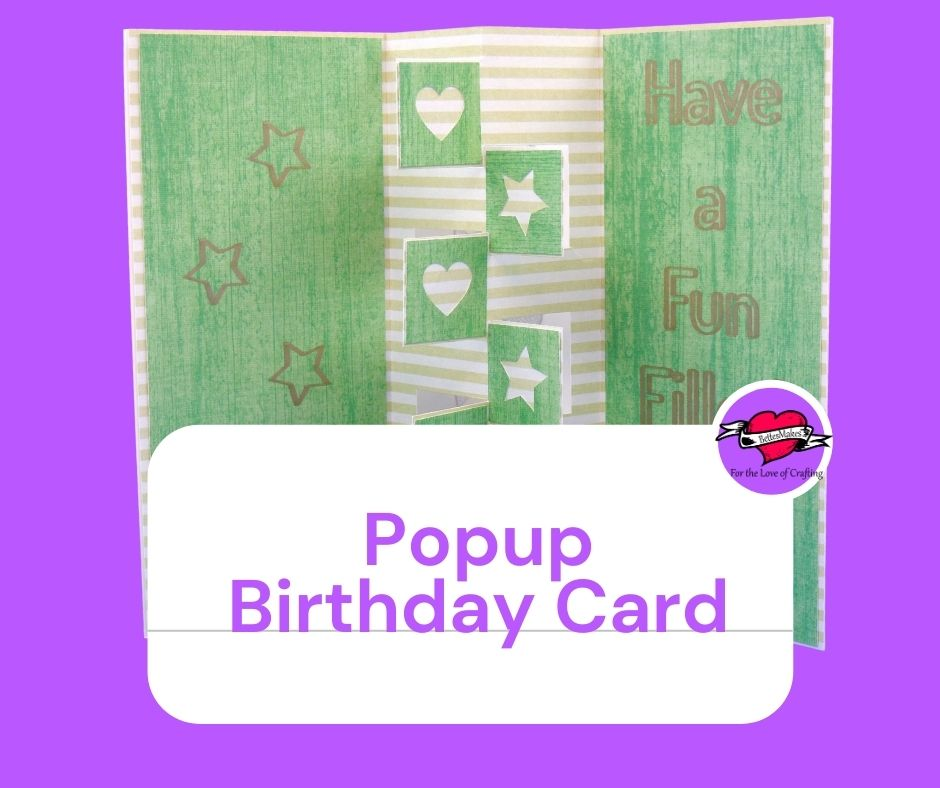 How to Make an Easy Popup Birthday Card for Beginners