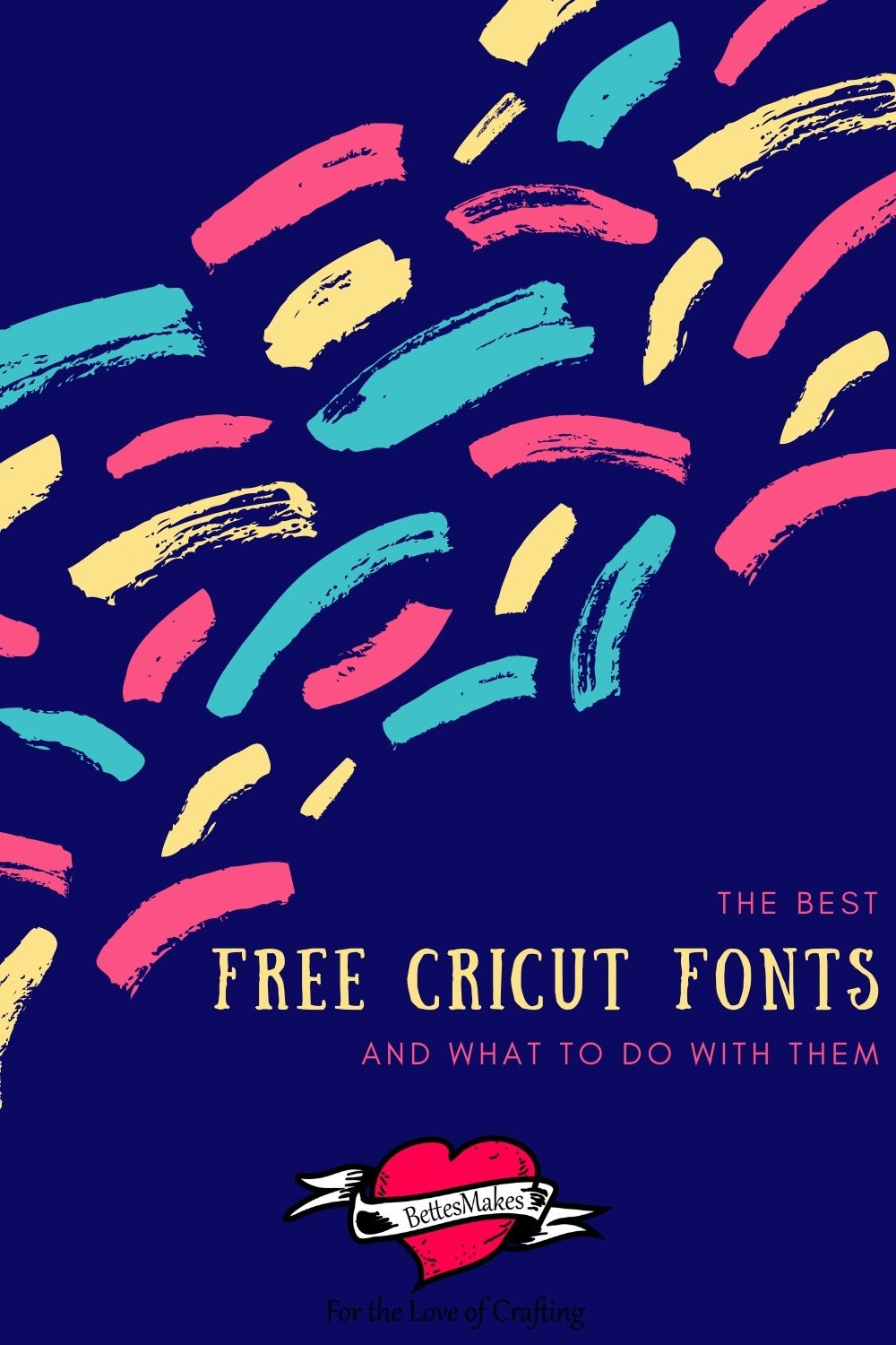 The Best free Cricut fonts and what to do with them