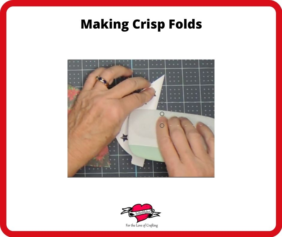 Spinning Ornaments Making Crisp Folds