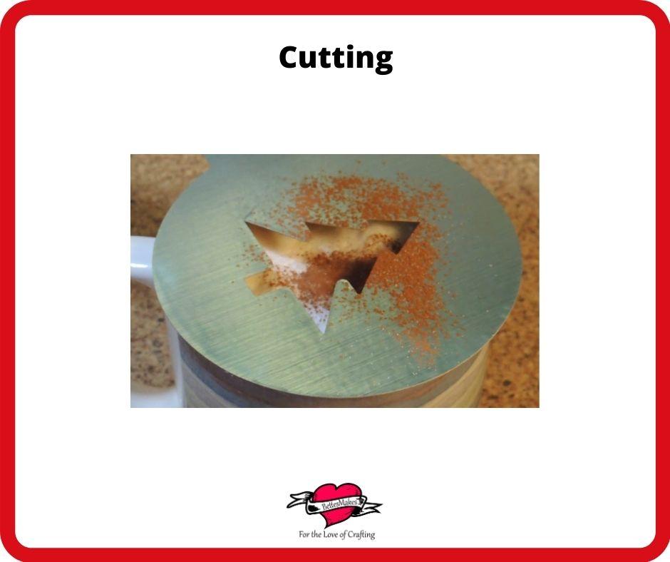 Coffee Barista Stencils Cutting